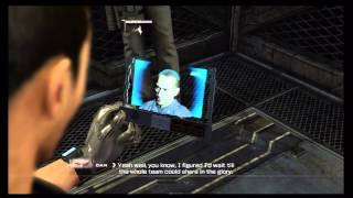 Binary Domain - Chap 5 Intelligent Artifice: Dan Marshall & Kurosawa Cutscene, Karate Kick Xbox 360
