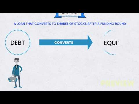 What is a convertible note?💰