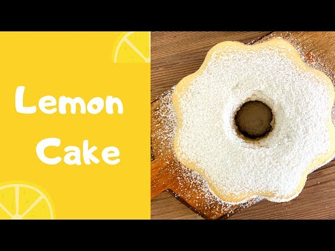 LEMON Cake| EASY recipe!