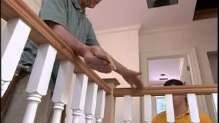 Installing Stair Handrails and Balusters