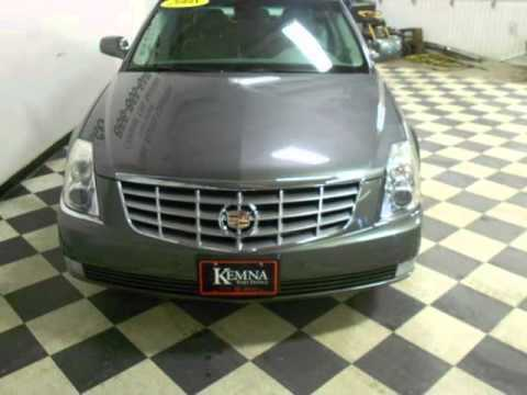 2008 cadillac dts 4d sedan air conditioning cruise control. Black Bedroom Furniture Sets. Home Design Ideas