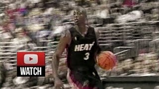 2003.10.28 Philadelphia 76ers vs Miami Heat Dwyane Wade Highlights, First Career Game, Fresh, Sick!