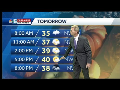 Video: Tom Messner is looking at mountain snow. 10.24.18