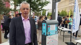 Des bornes de rechargement électriques à Paris-Saclay