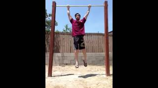 43 dead hang pull ups in one set!