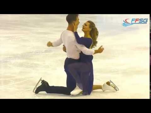 Gabriella Papadakis and Guillaume Cizeron FREE DANCE Masters de Patinage 2017
