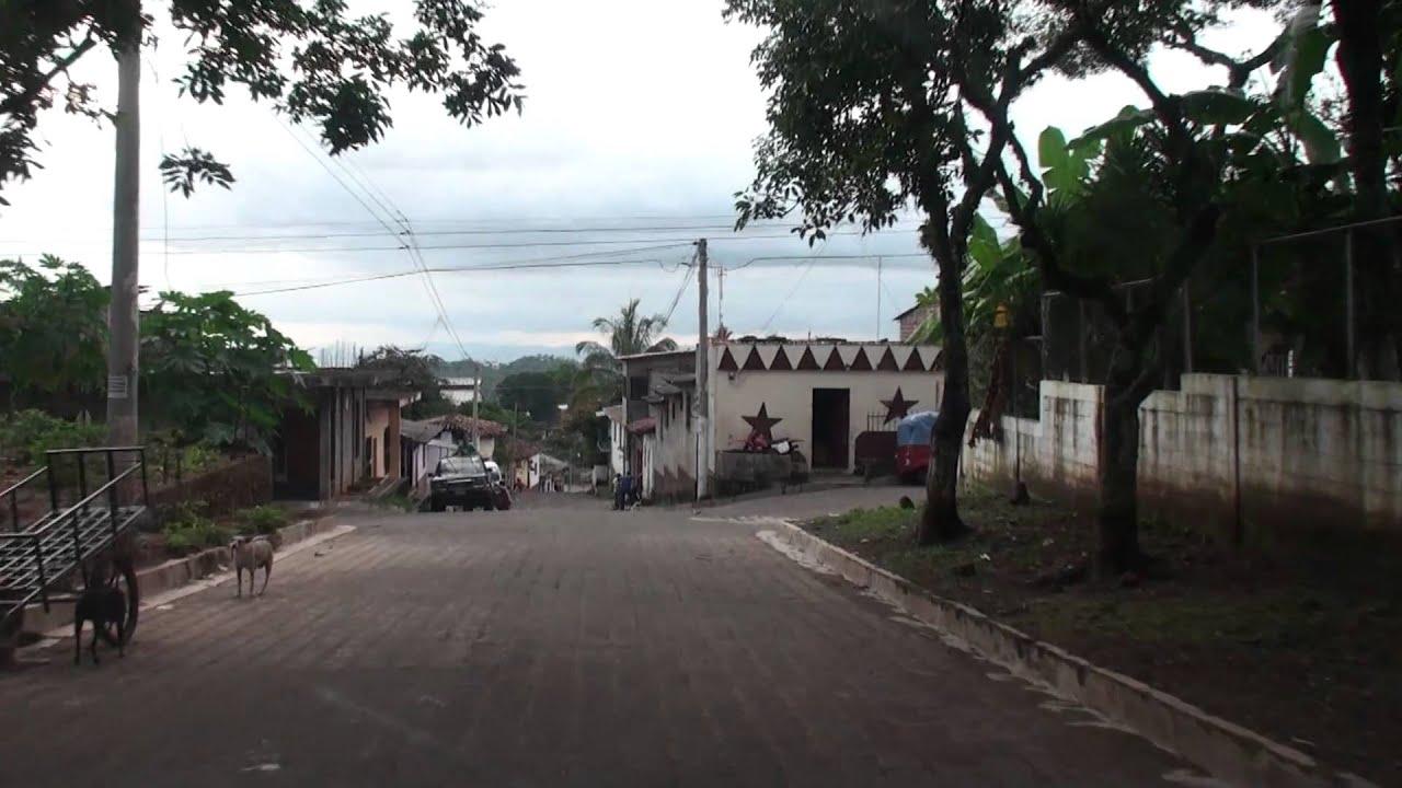 Chapeltique ciudad barrios moncagua Percorso Ciudad