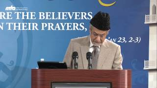 Infinite treasures of the Holy Qur'an - 2nd Day Jalsa Salana USA West Coast 2013