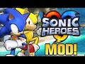 Sonic Heroes (PC) - Emerald Coast Stage Mod & Super Sonic Mod