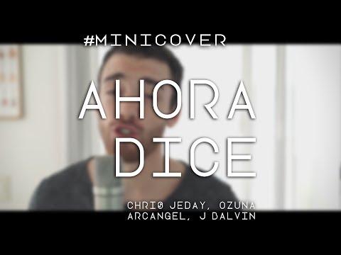 AHORA DICE - Chris Jeday, Ozuna, Arcangel, J Balvin (Cover by Franco y Bruno)