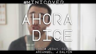 Ahora Dice Chris Jeday, Ozuna, Arcangel, J Balvin Cover by Franco y Bruno.mp3