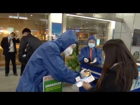 Domestic Flights Resume In Hubei Province