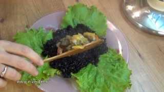 Как приготовить Чёрный рис с овощами по-итальянски / Nerone rice with vegetables ♡ English subtitles
