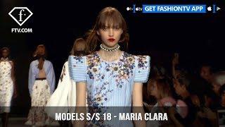 Maria Clara Model Talks Spring/Summer 2018 | FashionTV | FTV