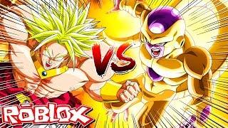 ROBLOX: SUPER SAIYAJIN LEGENDARY OU GOLDEN FREEZA!? -Dragon Ball Final Stand Z - Ine