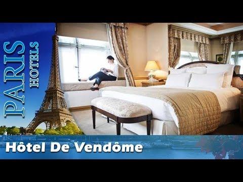 Hôtel De Vendôme - Paris Hotels, France
