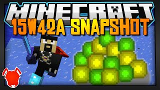 Minecraft | Item Mending, Frost Walking & More! | 15w42a Snapshot!