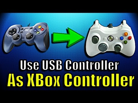 How to use USB or PS3 controller as xbox controller (Better DS3)