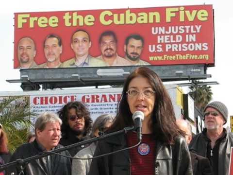 Cuban Five Billboard, Hollywood, CA