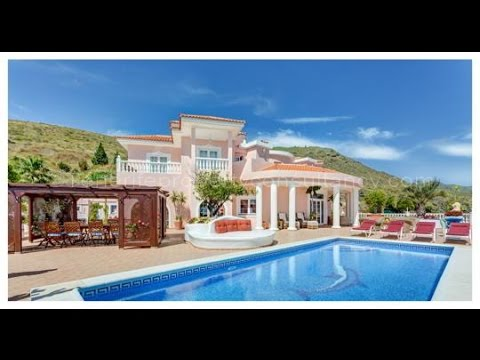 Villa Monaco Adeje Tenerife Canary Islands Luxury Villa For