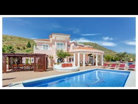 Villa Monaco Adeje Tenerife Canary Islands Luxury Villa For Sale