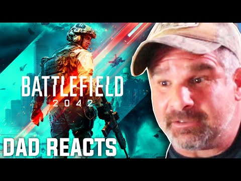 Dad Reacts to Battlefield 2042 Reveal Trailer!