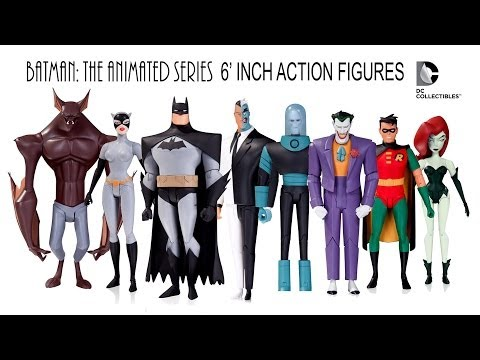 """Batman The Animated Series 6"""" Action Figures DC Collectibles Wave 1 & 2"""