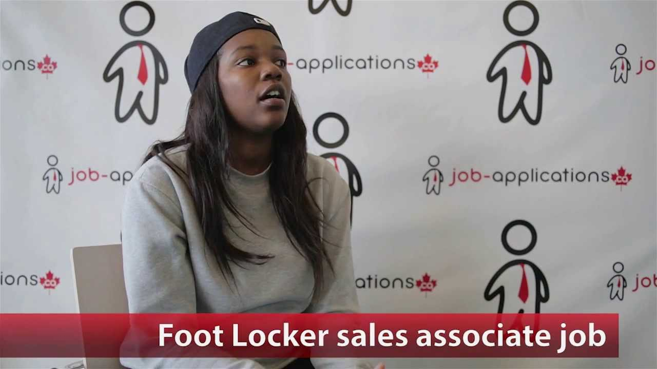 foot locker s associate job