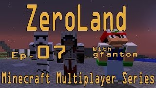 Minecraft ZeroLand Ep7 : Μοντέρνα Περιοχή w/Baze & NikosGram13