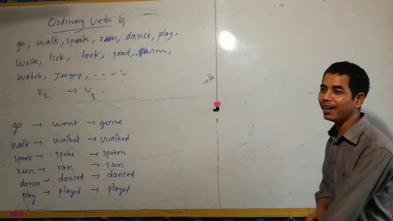 រ នគ រ Grammar ភ គ១០ 1 2 Present Simple With Ordinary Verbs To Do A B Ir And Re Verbs Part 10