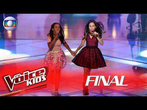 Valentina Francisco e Emellyn Syang cantam 'À Francesa' no The Voice Kids Brasil - Final