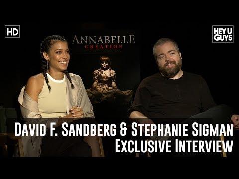 David F. Sandberg & Stephanie Sigman Exclusive - Annabelle: Creation Movie Interview