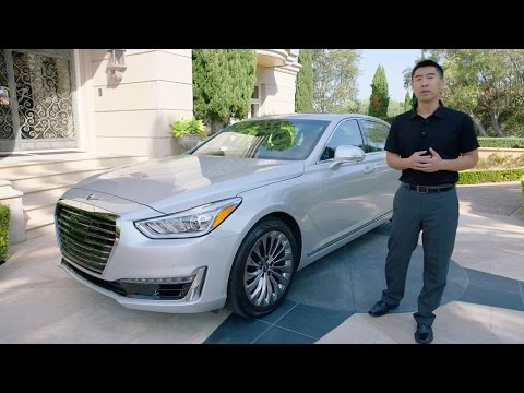 Genesis G90 2017 Price, Design and Performance