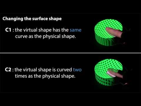 Manipulating Haptic Shape Perception in Spatial Augmented Reality