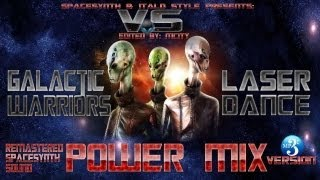 Galactic Warriors  -VS-  Laserdance  Power MIX   [ MCITY 2O13 ]