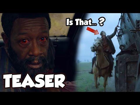 Fear The Walking Dead Season 6 - New Teaser Reaction & Breakdown   Masked Person Identified??
