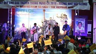 Võ Đại Tôn, Lý Tống, Trúc Hồ, Việt Khang tham gia gây quỹ Truyền Thông Hưng Ca