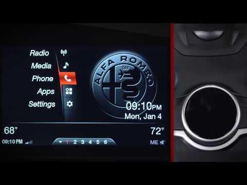 Infotainment System APPs I 2017 Giulia I Alfa Romeo USA