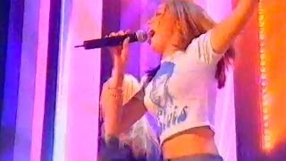 Atomic Kitten perform 'Right Now' live at Top of the Pops (1999). T...