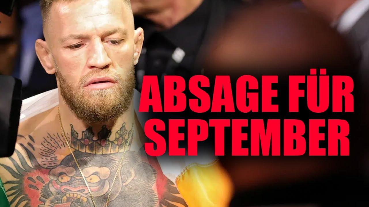 Conor McGregor erteilt Charity Kampf im September ABSAGE!
