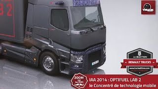 Innovations RENAULT TRUCKS : OPTIFUEL LAB 2