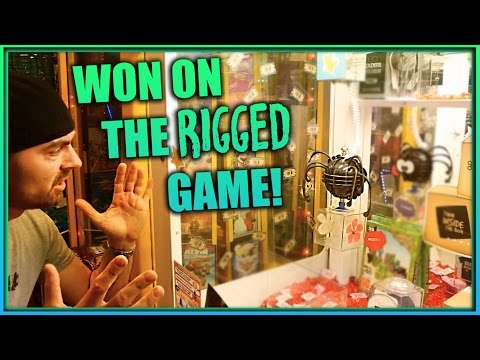 My First Cut The Rope Arcade Game Win! & More Arcade Redemption Games ArcadeJackpotPro
