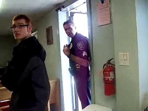Springfield Oregon Police interrupt Church 1/2
