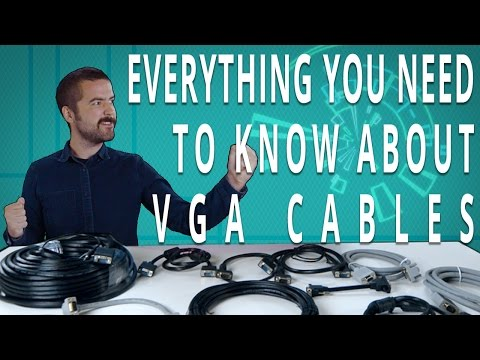 All About VGA Cables - What YOU Need To Know!