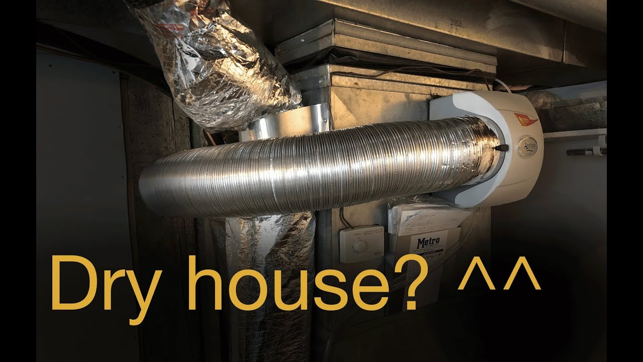 aprilaire 500 whole house furnace humidifier diy installation tips and tricks [ 1280 x 720 Pixel ]