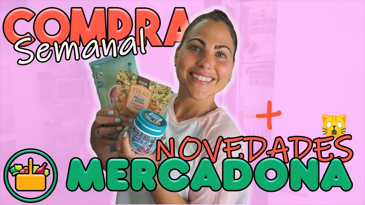 🍉SUPER COMPRA Semanal MERCADONA Agosto'20! Con muchísimas NOVEDADES😱!! | Carla Wonderland
