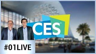 CES : quatrième jour, une émission spéciale Start-Up - 01LIVE CES 2019 #4