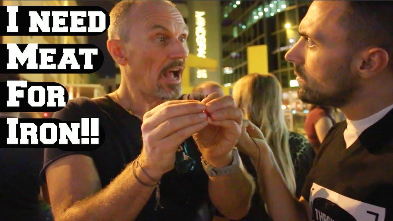 PhD Biologist DESTROYS Vegan Activist!