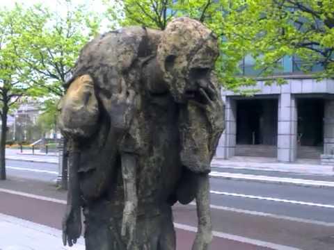 IRISH FAMINE MEMORIAL.