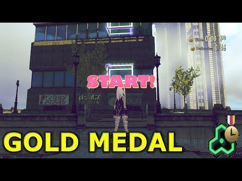Gravity Rush 2 - Challenge Mission 3: Newspaper Delivery I Gold Medal! HQ